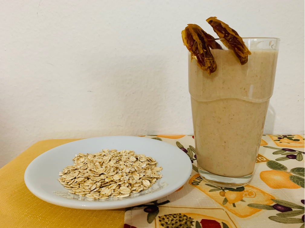 Oats milk shake