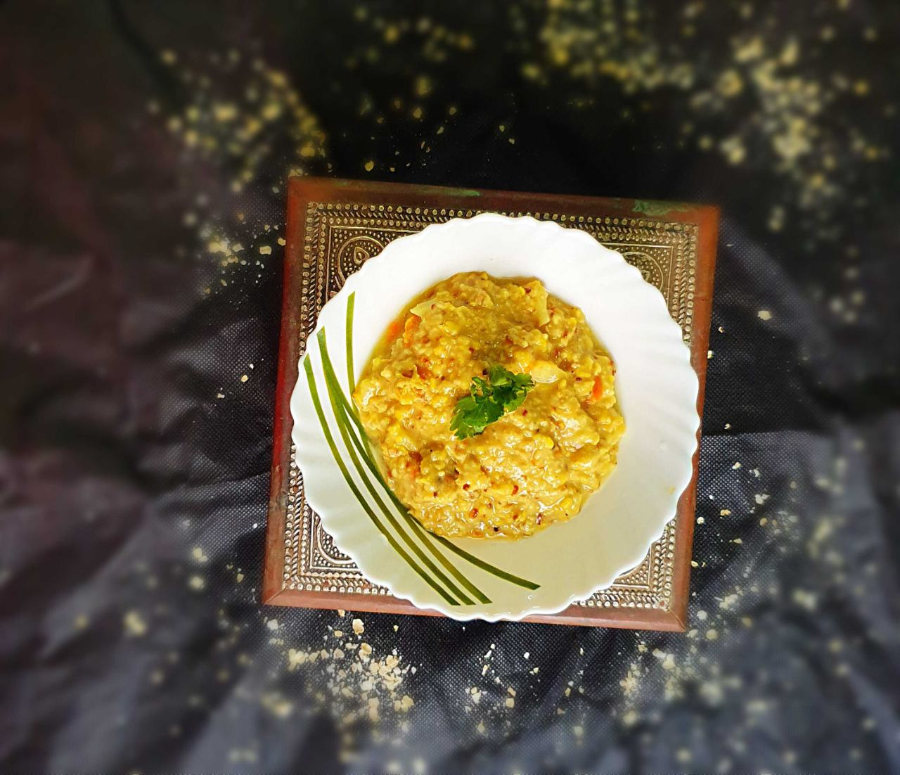 Vegetable Oats Khichdi