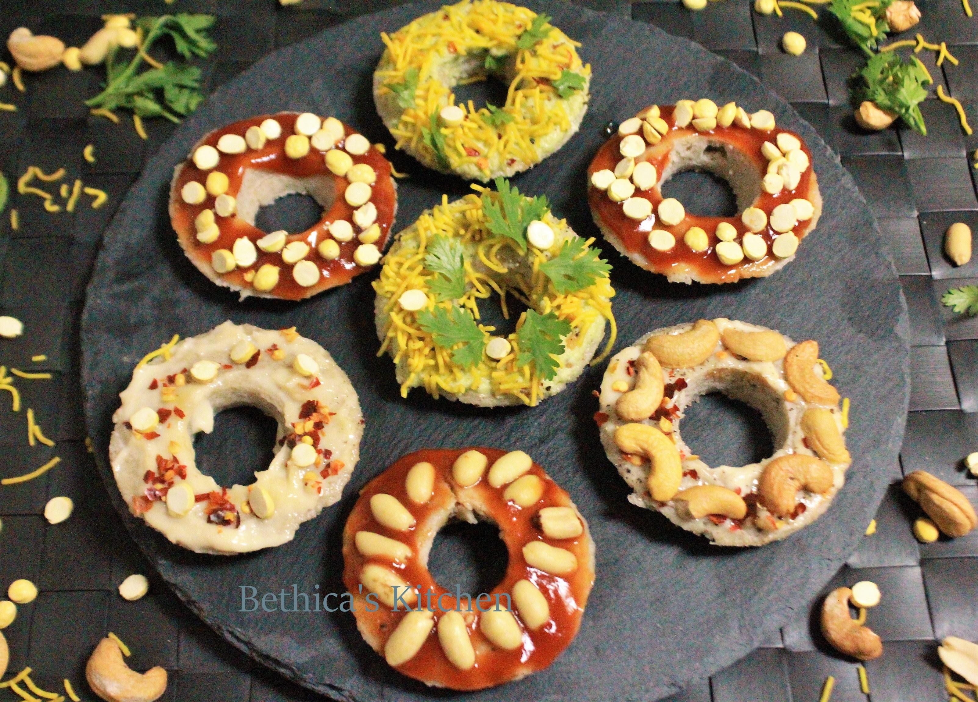 Oats Idli Doughnuts