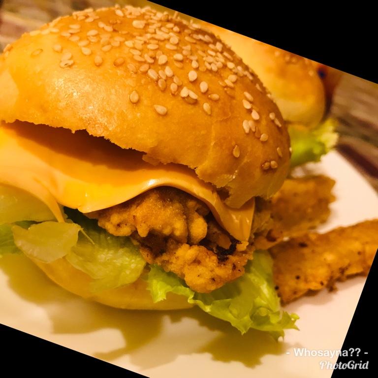 Whosayna's Zinger Burger
