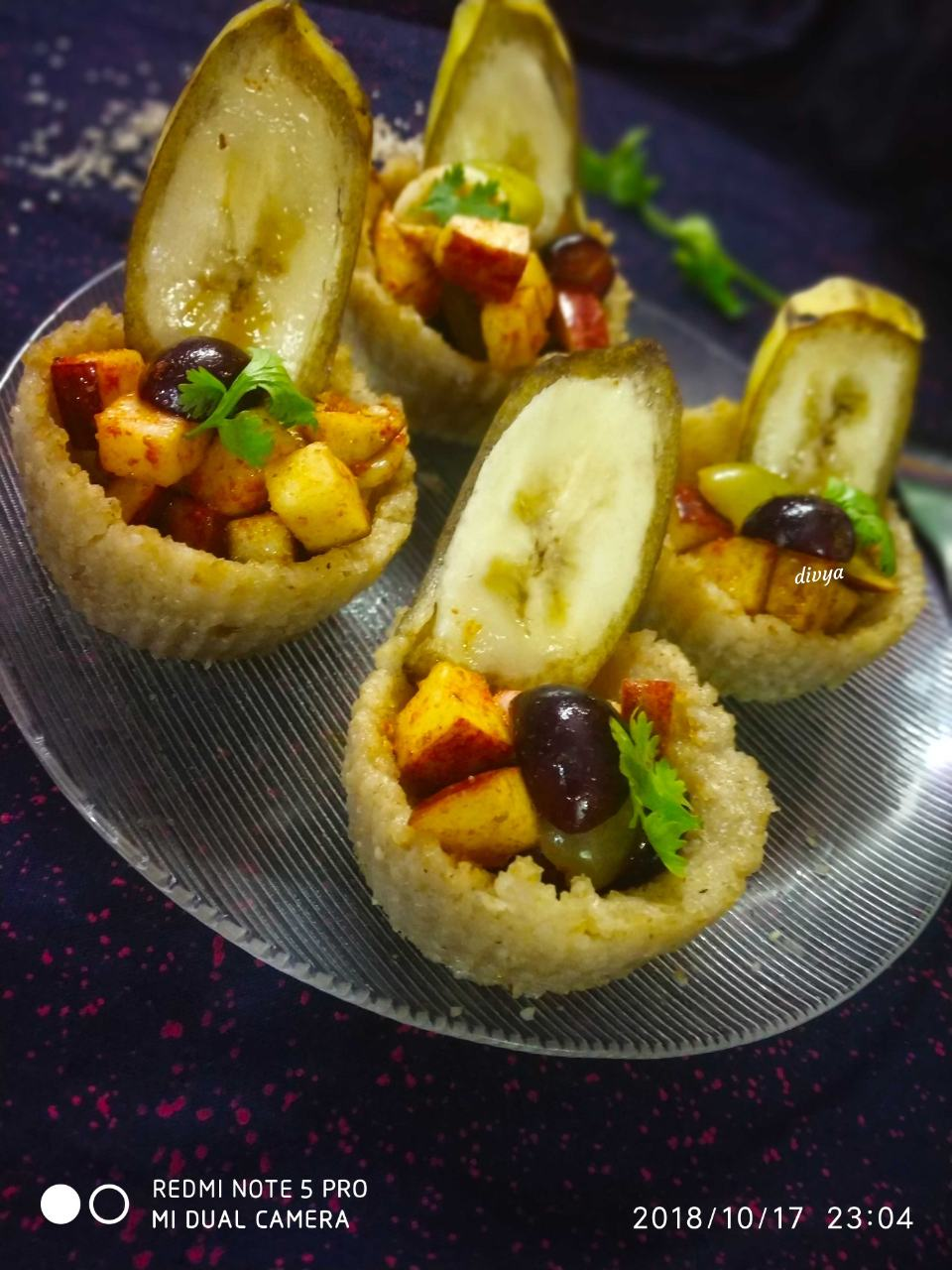 Baked Millet Cup In Fruit chat