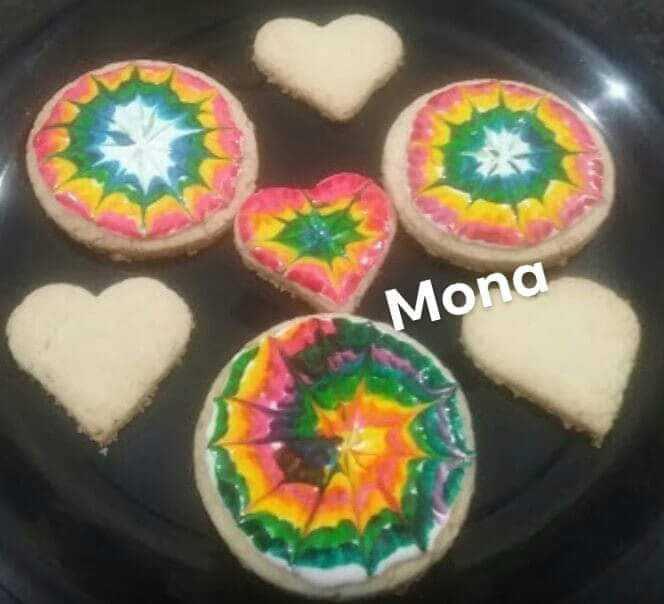 Jam Rainbow Butter Cookies 🌈 🍥🍥🌈