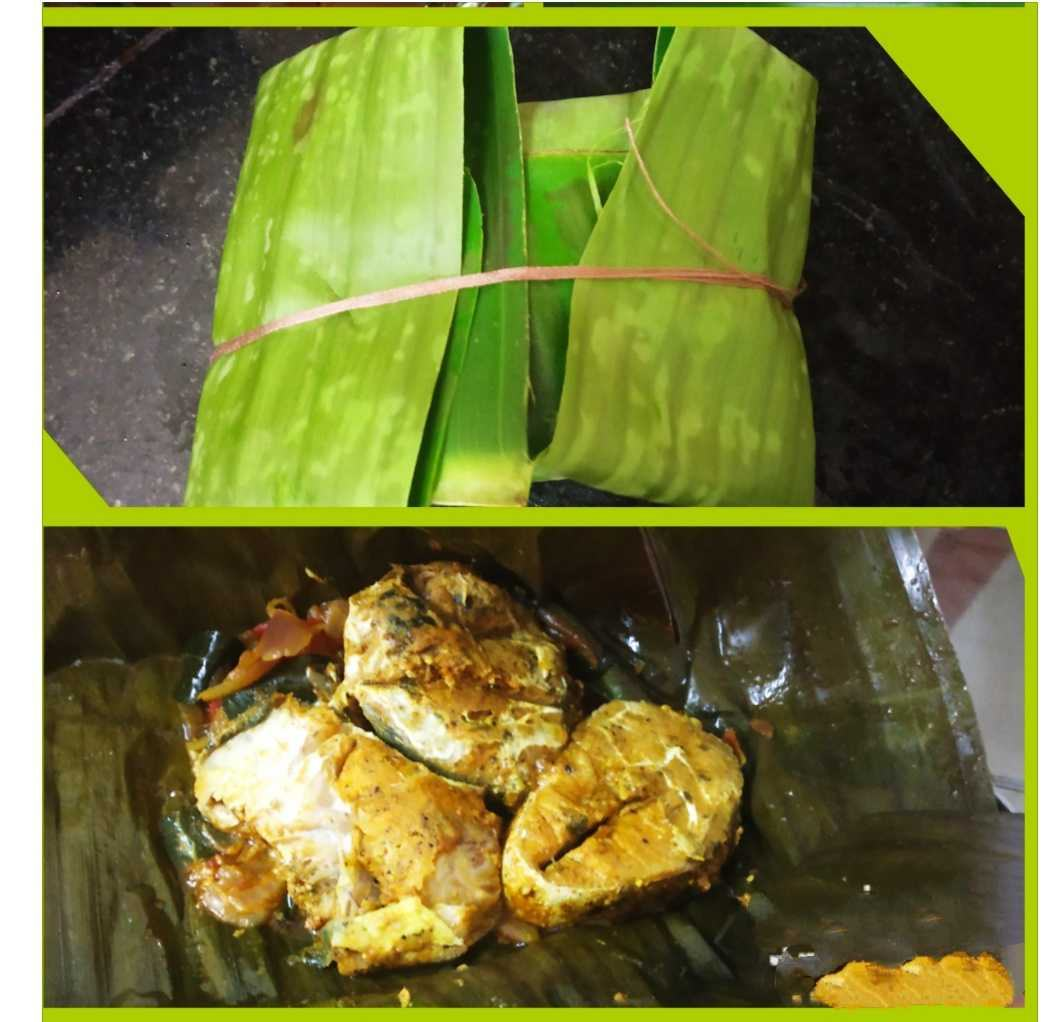 Fish Fry In Banana Leaf