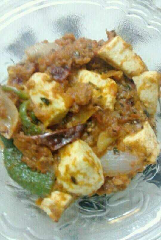 Kadhai Paneer In Microwave