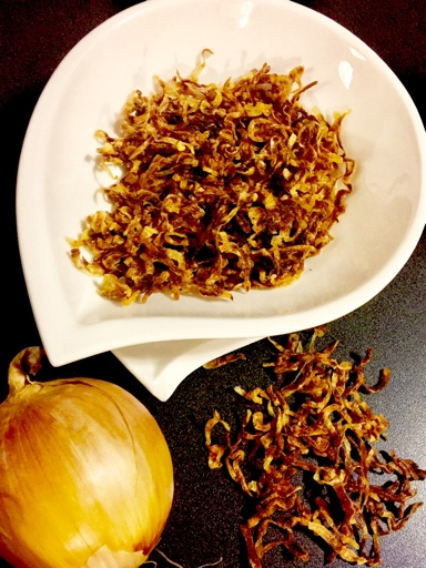 Microwave Onion Barista/Crispy Fried Brown Onions
