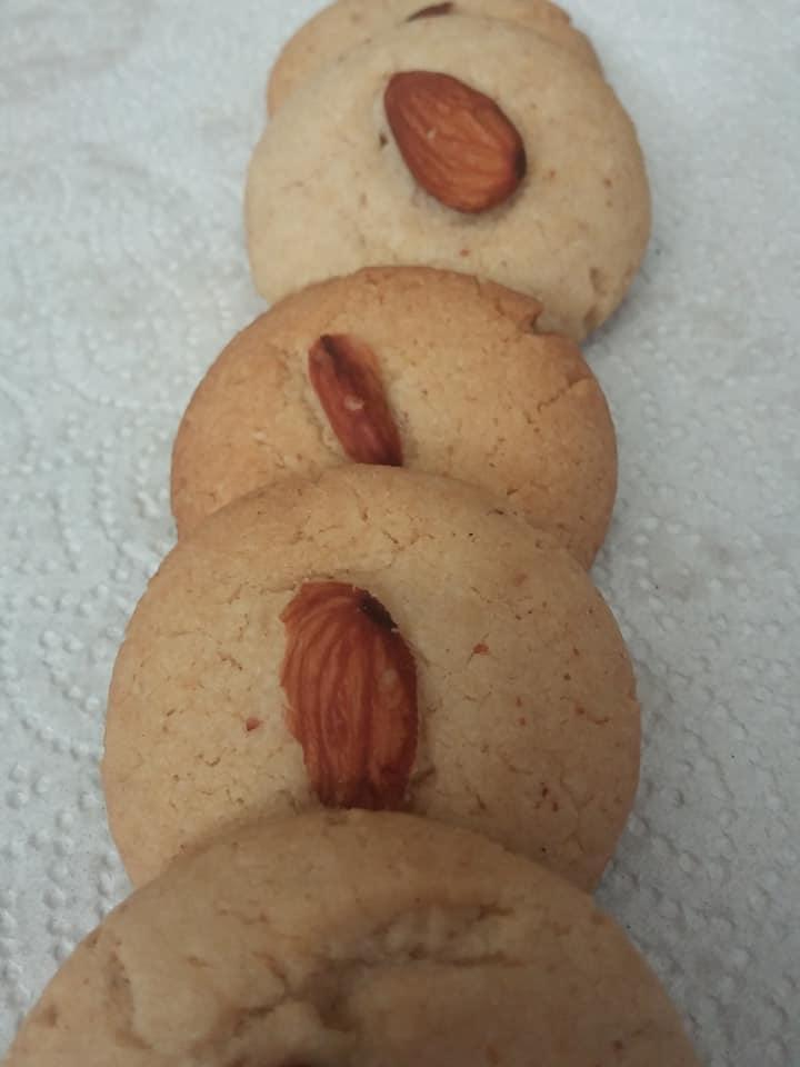 Naan Khatai Almond Cookie