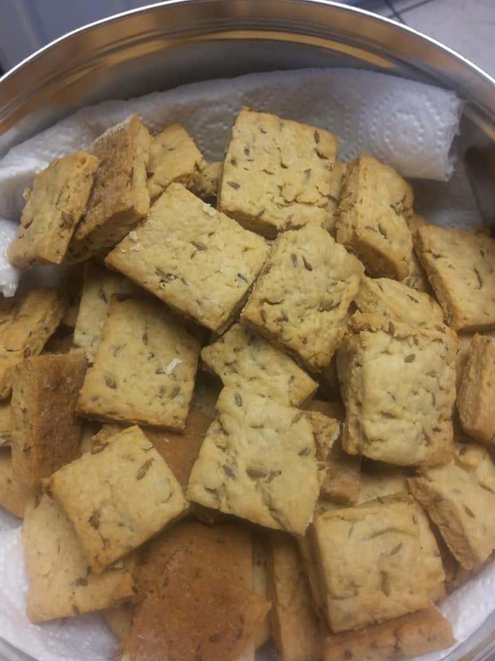 Homemade Jeera Cookies