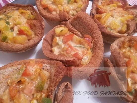 Bread Cup Muffins