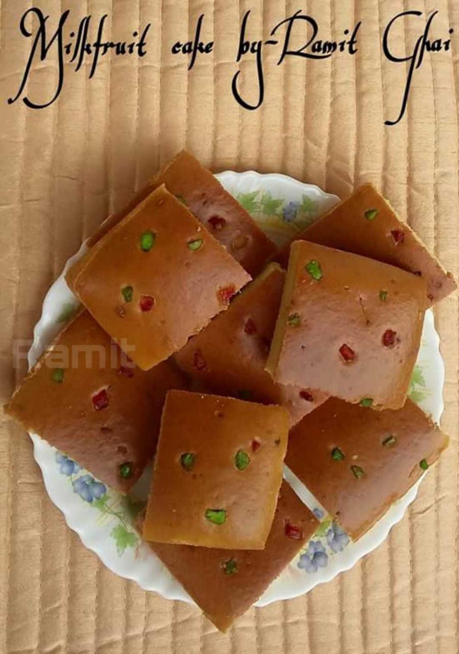 MilkFruit Cake