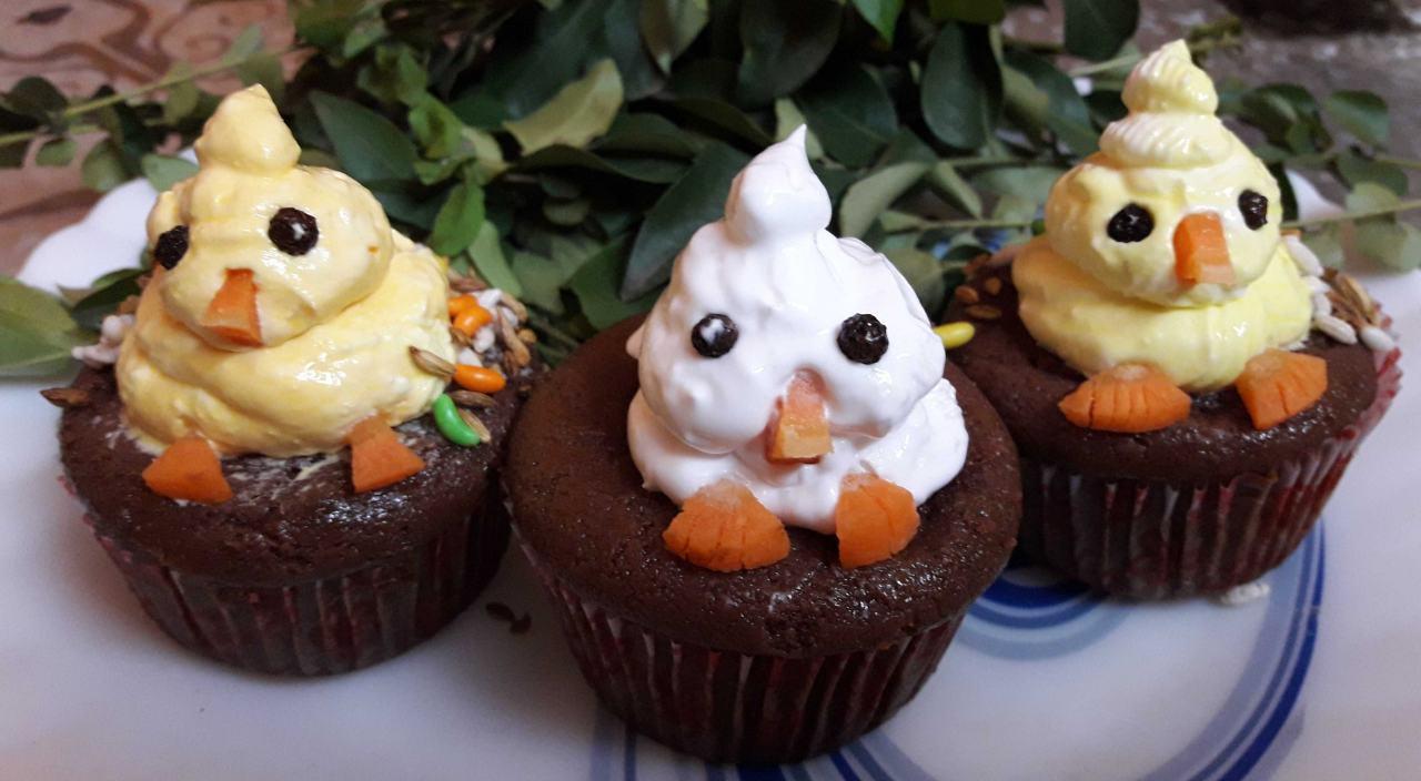 Choco Bird Muffins