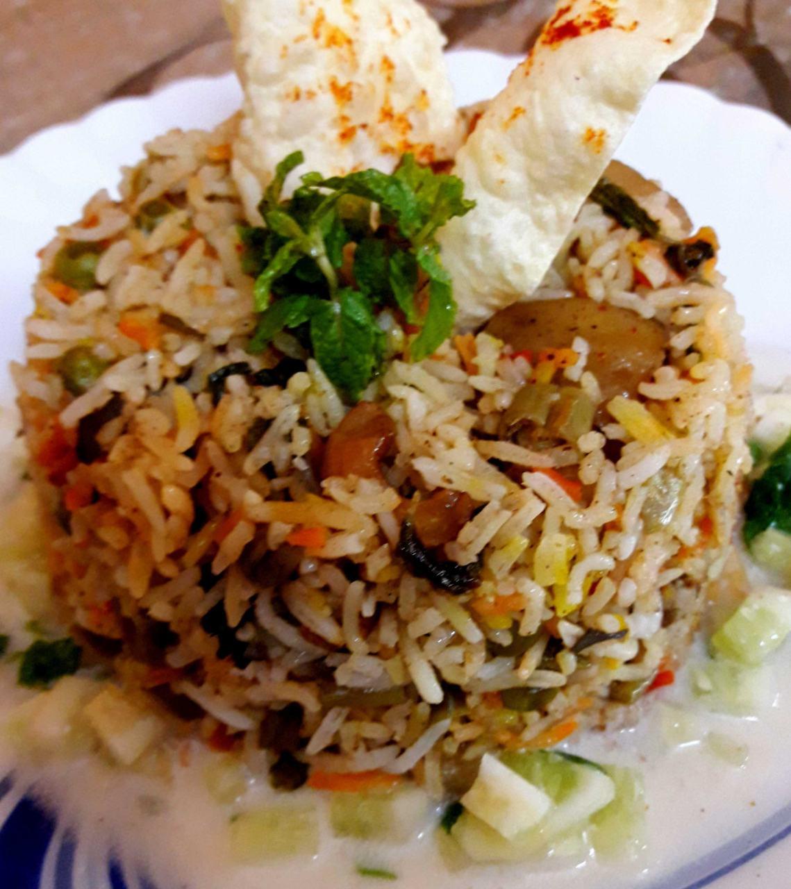 Without Onion Garlic Fried Rice