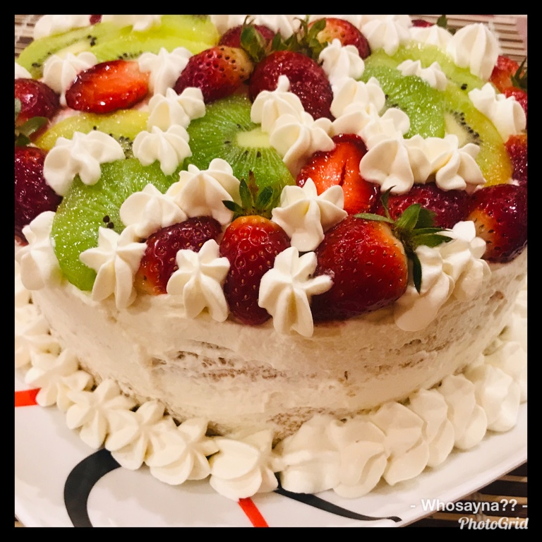 Whosayna's White Forest Gateau