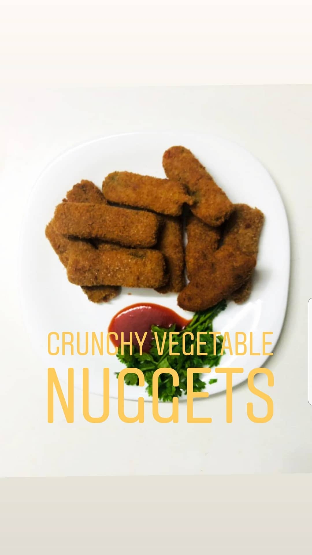 Crunchy Vegetable Nuggets