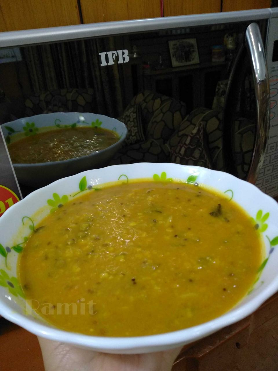 Zero Oil Sambar (sambar made in zero oil, needed just for tempering)