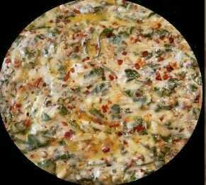Spinach Flat Bread