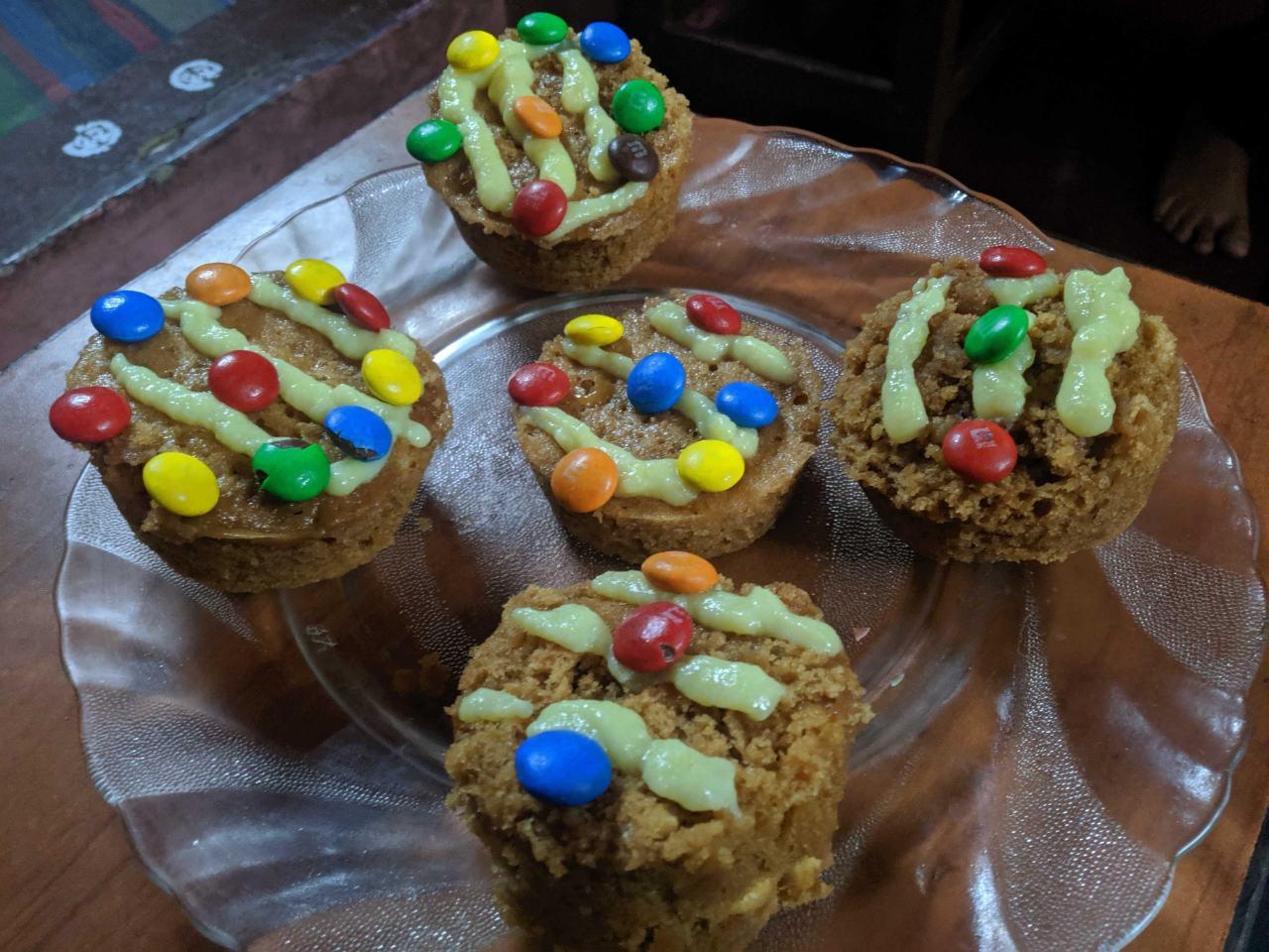 Horlicks Biscuit Muffins
