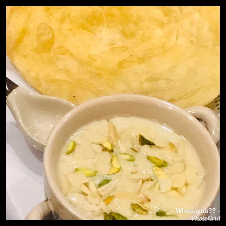 Whosayna's Kheer/Rice Pudding