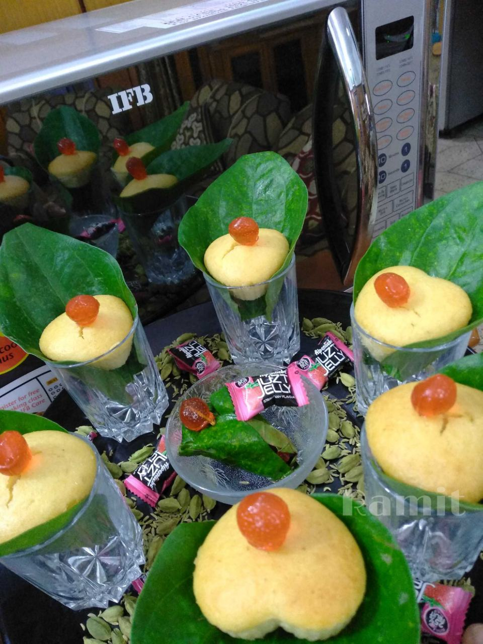 Sweet (Jelly) Betel Muffins