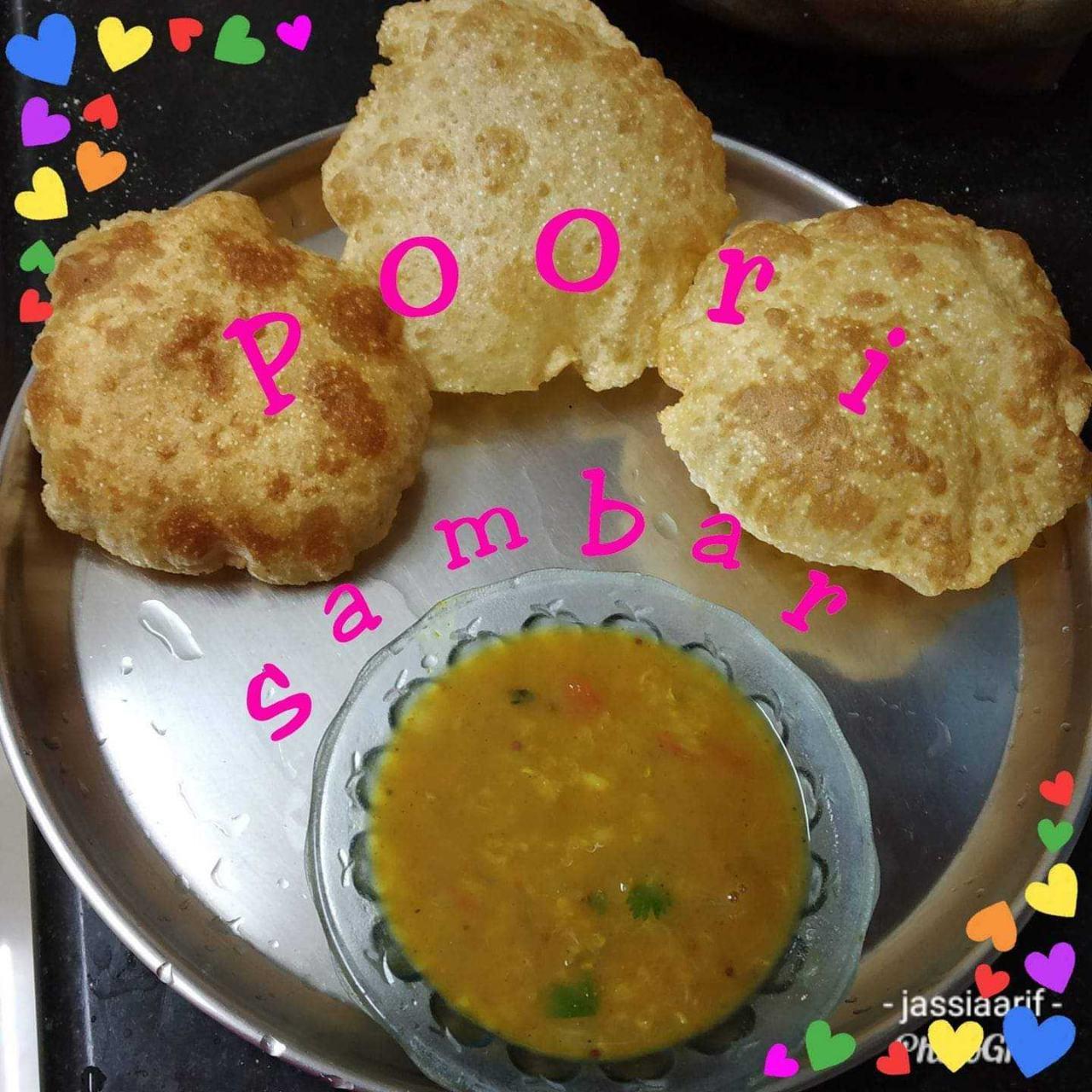Stuffed Egg Poori