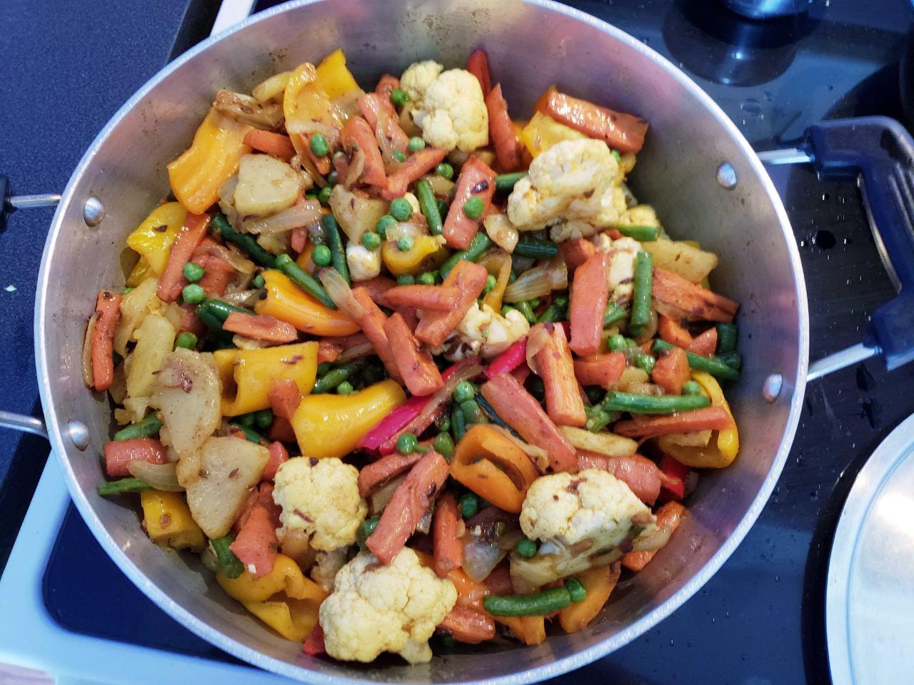 Healthy Mix Veg Desi Ghee Tadka