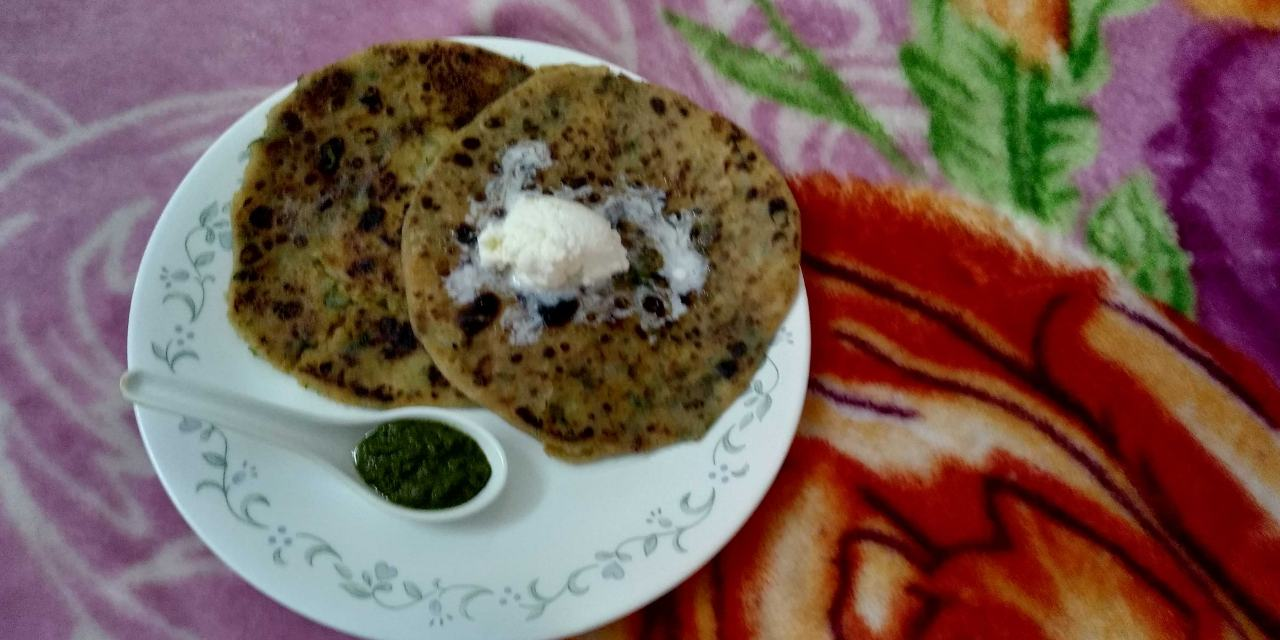 Aalu Paneer Paratha