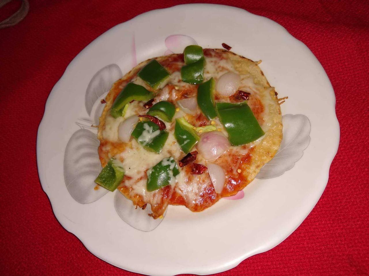 Garlic Pizza Paratha