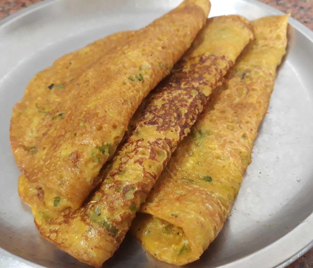 Vegetarian Omelettes | Vidarbha Cucumber Paratha