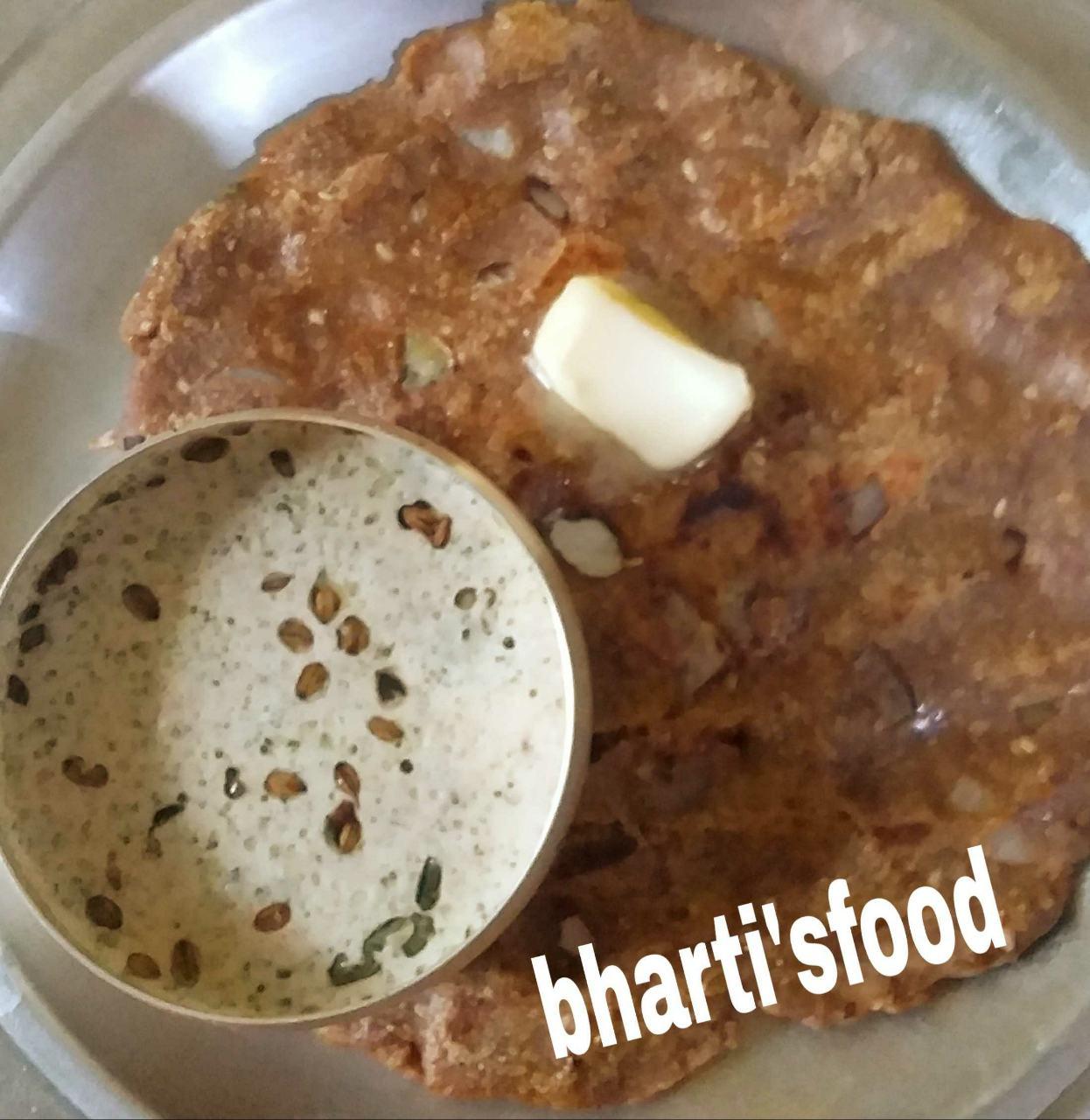 Healthy Multigrain Thali Pith( Maharashtrian Traditional Dish)