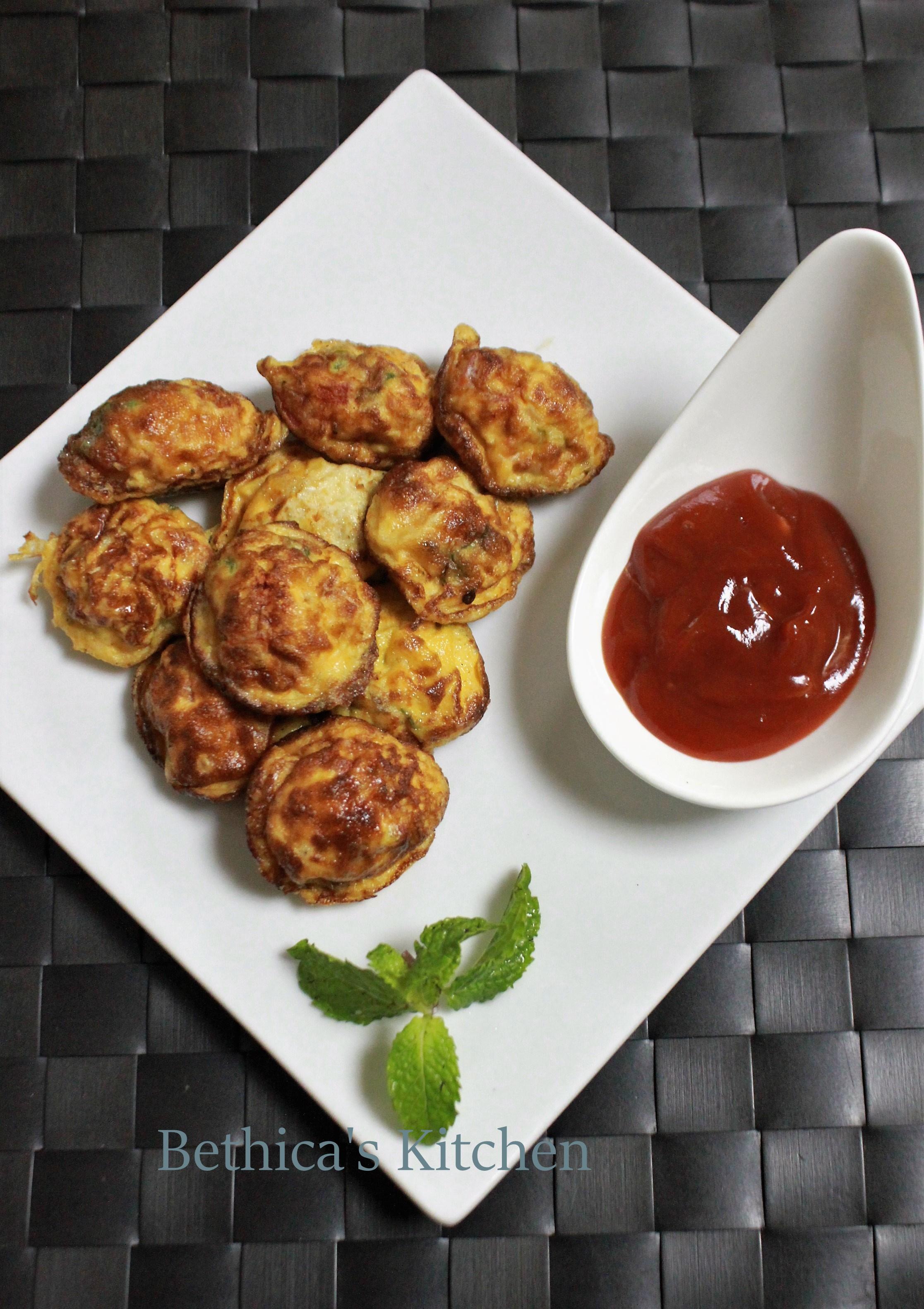 Egg Paniyaram (South Indian Fusion Style)