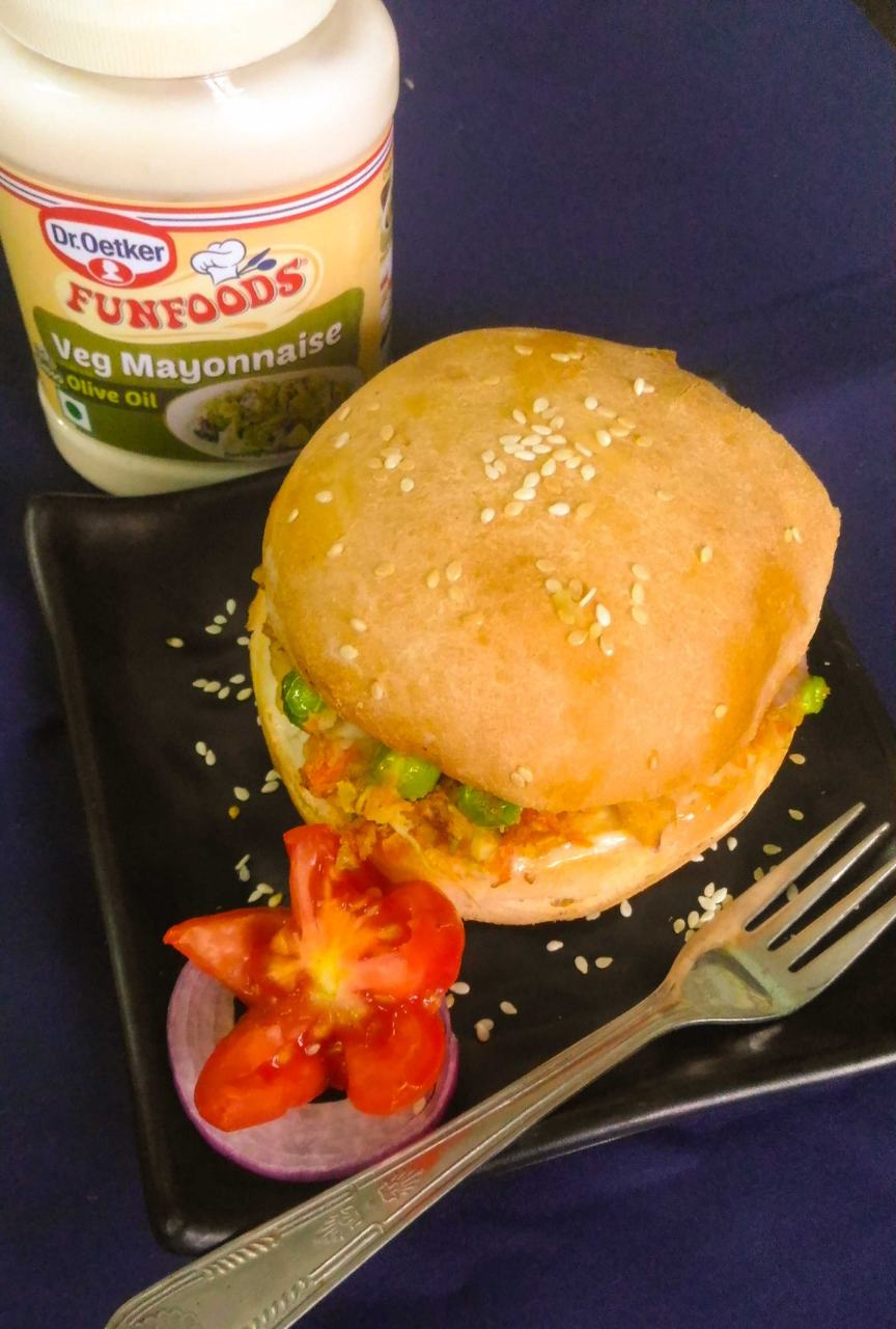 Veg Aloo Tikki Burger