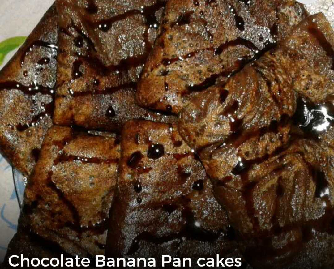 Chocolate Banana Pan Cakes