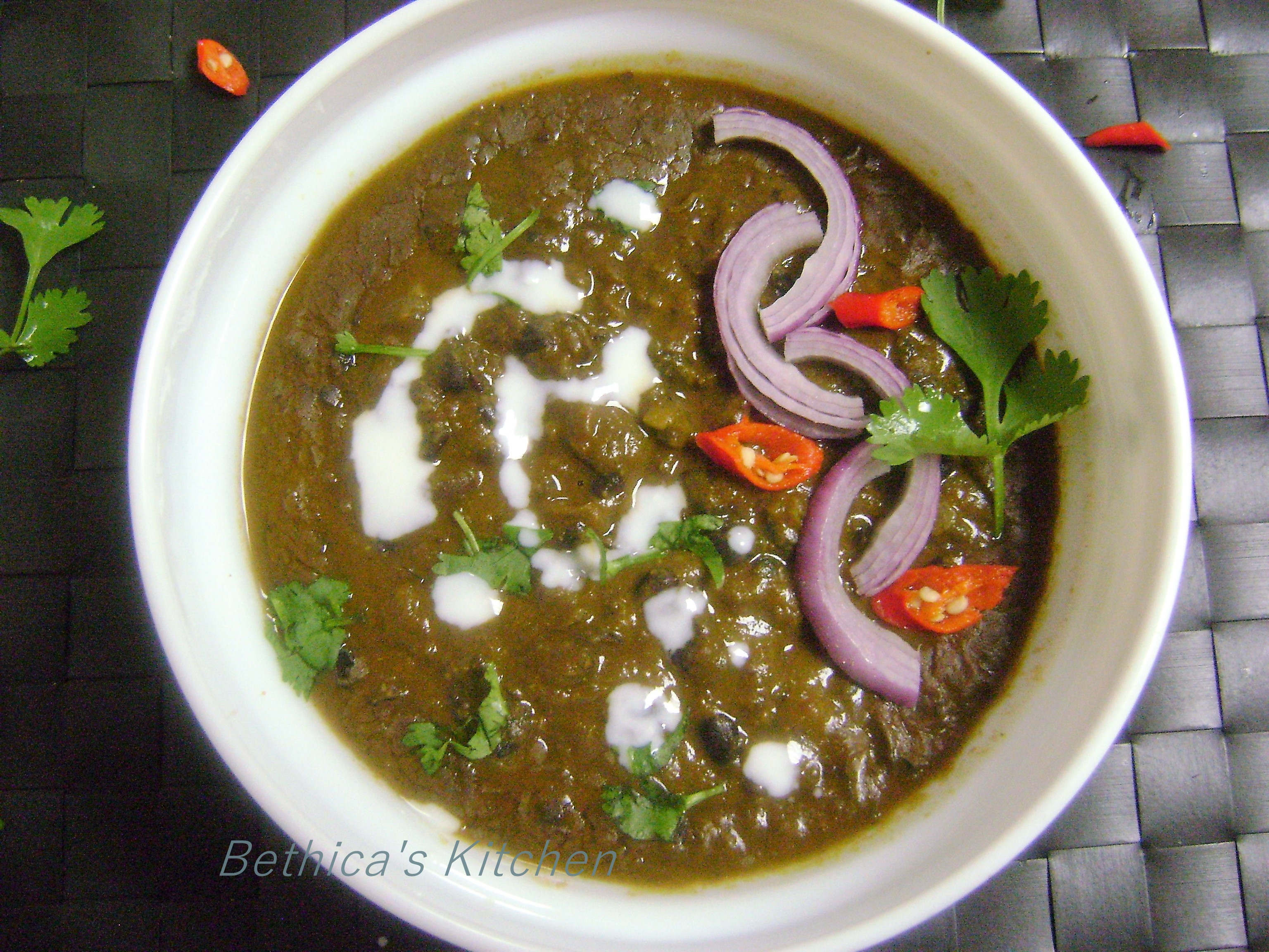 Black Turtle Beans Curry