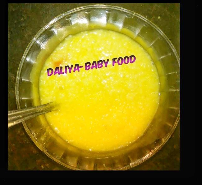 Daliya baby food
