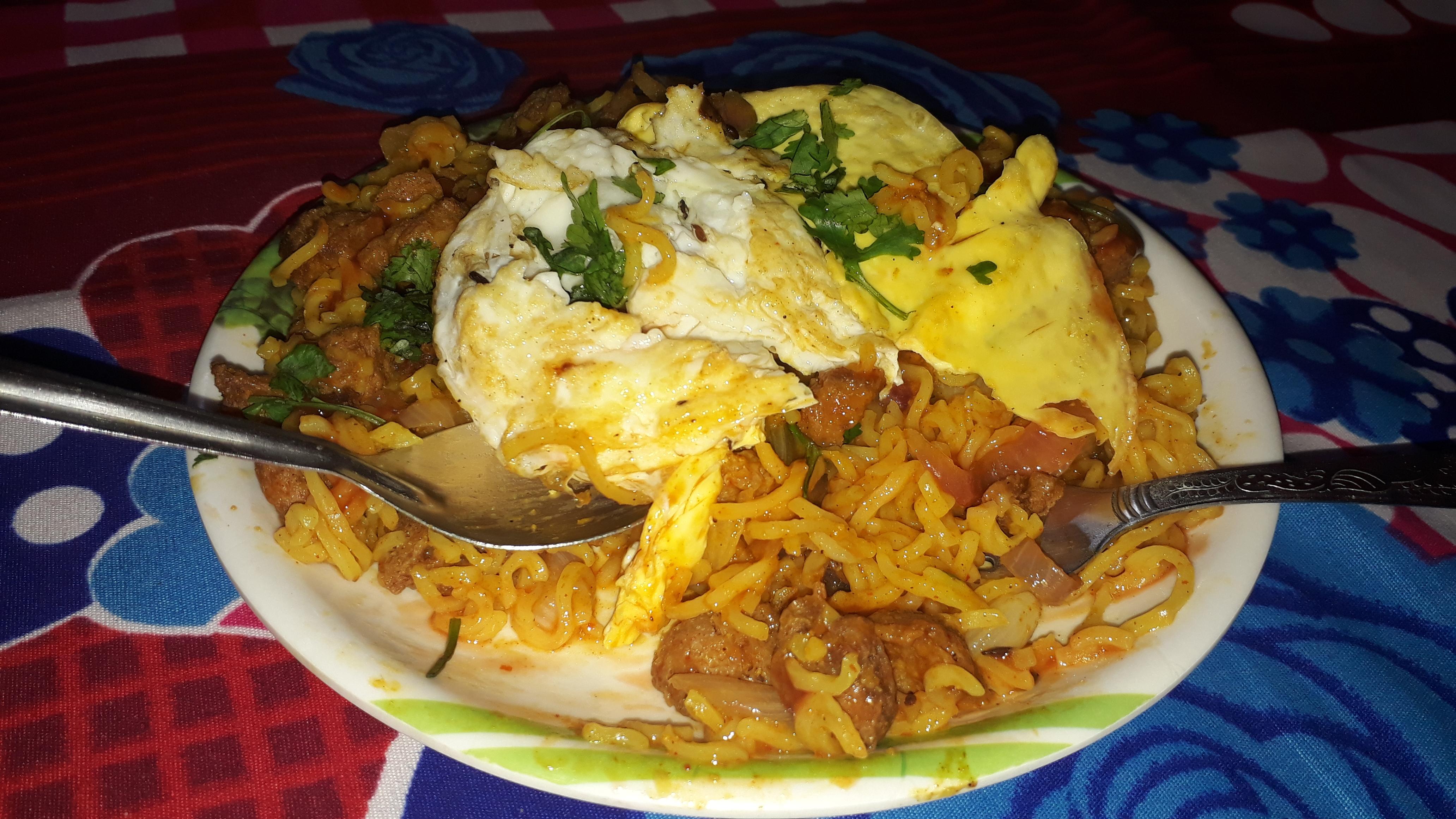 Omelette maggie