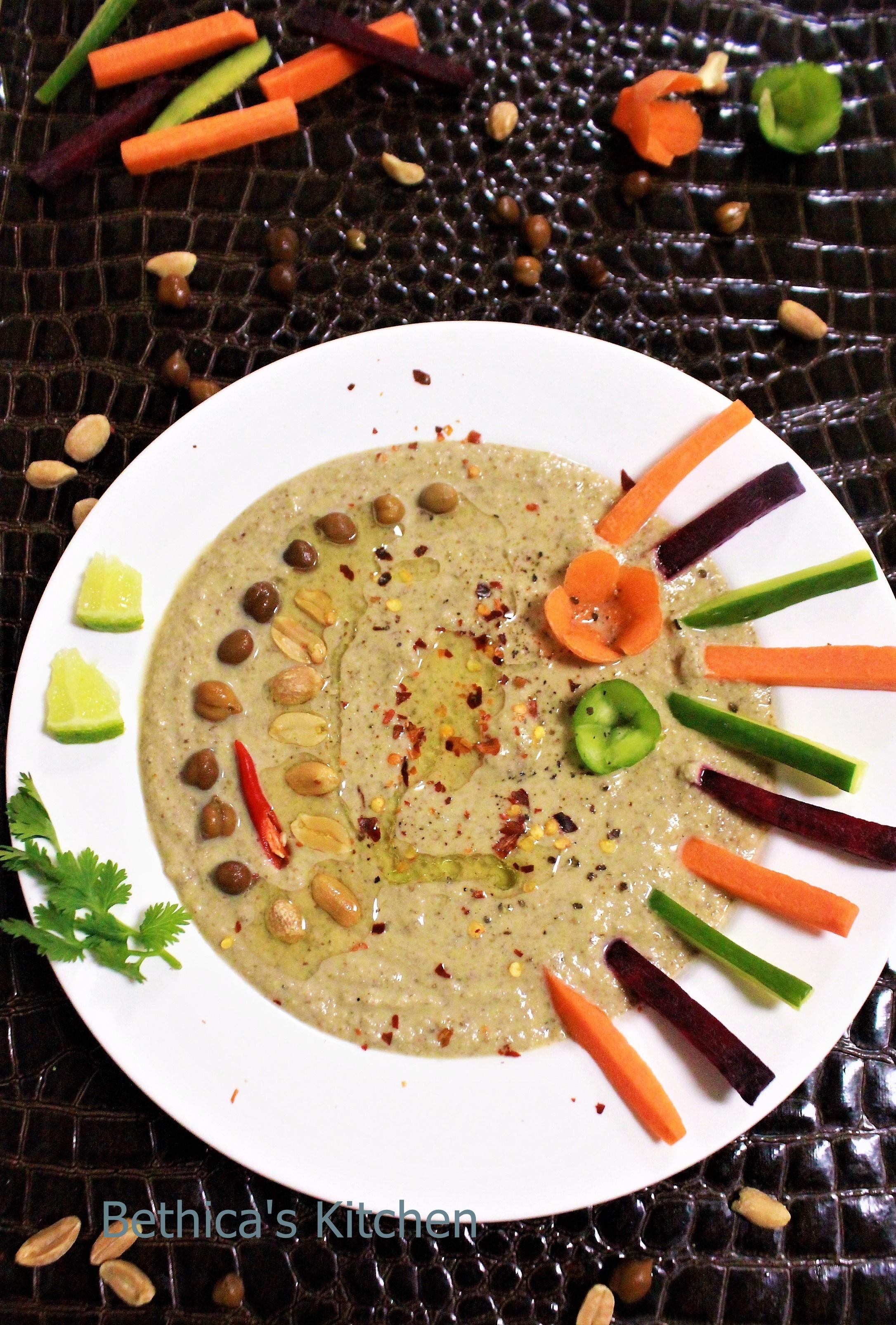 Black Chickpeas Hummus
