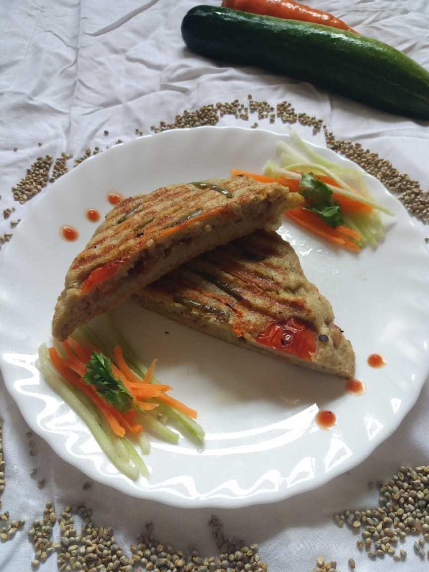 Urad Dal Millet Sandwich