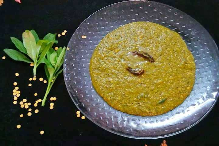 Keerai Kootu / Greens With Toor Dal