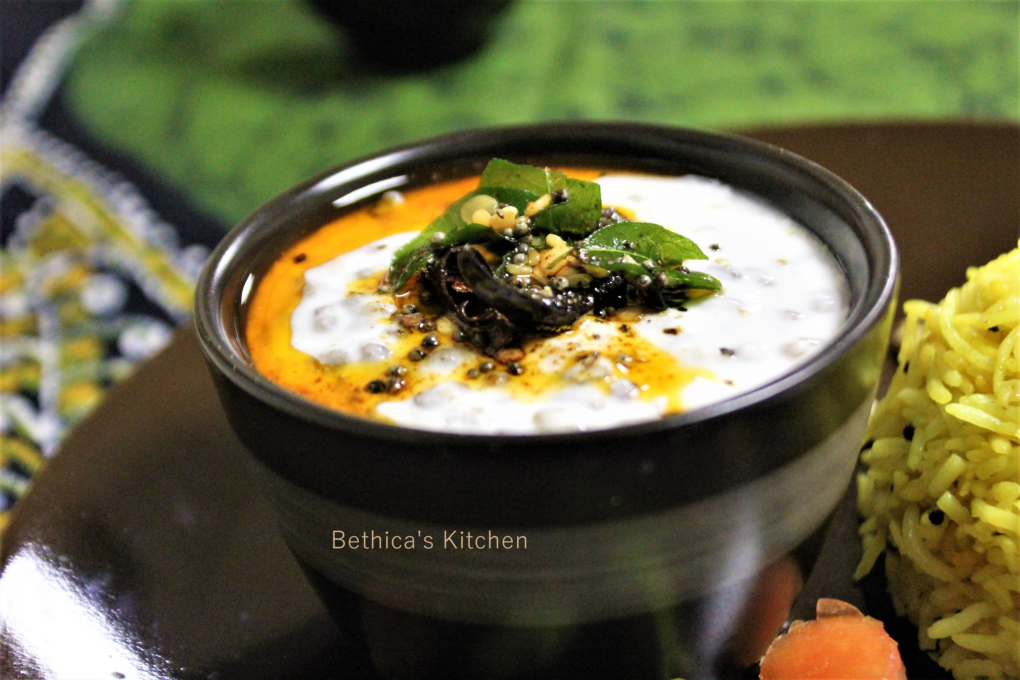 Moong Sprouts Raita