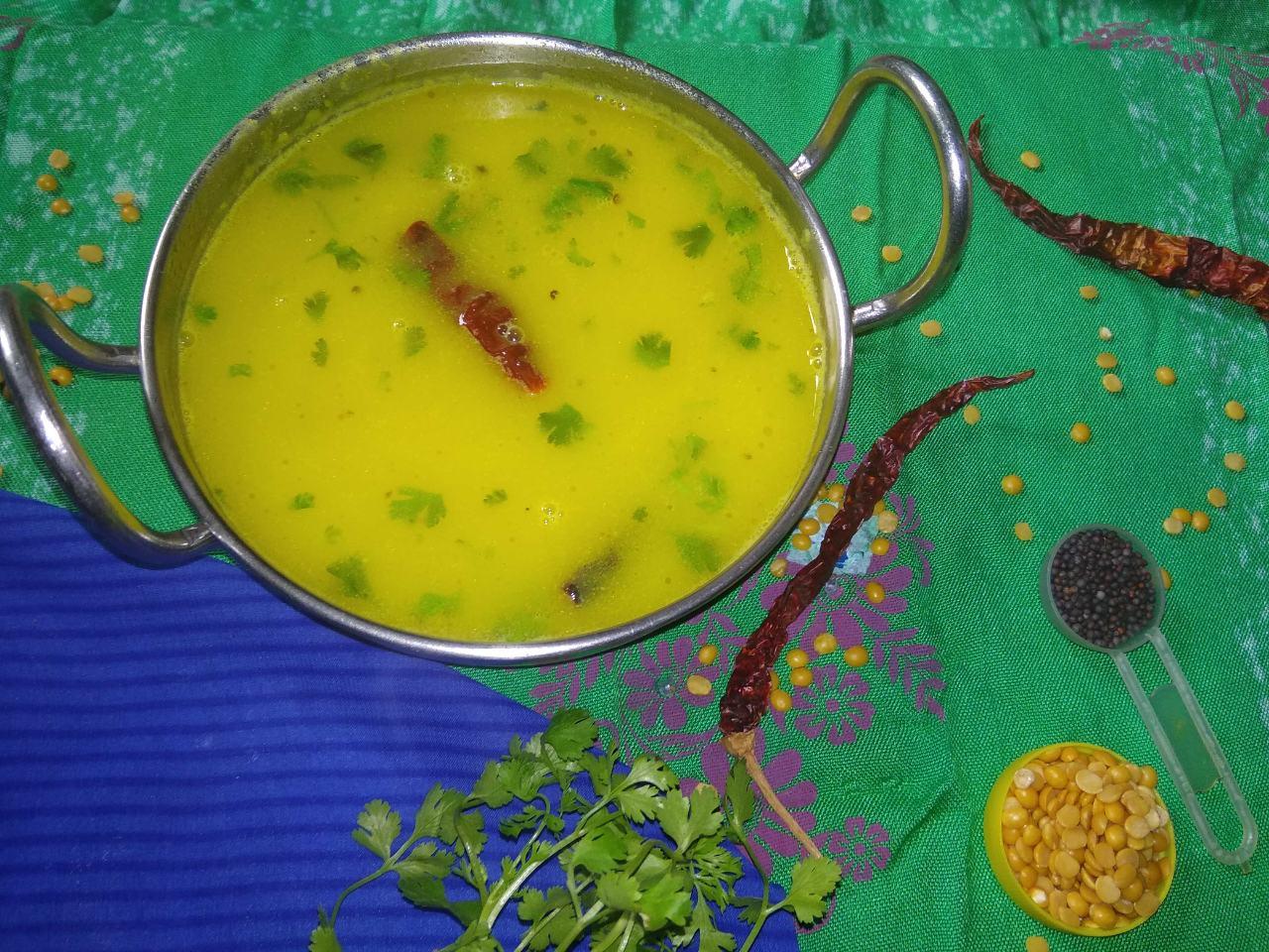 Dal Tove (Konkani Style)