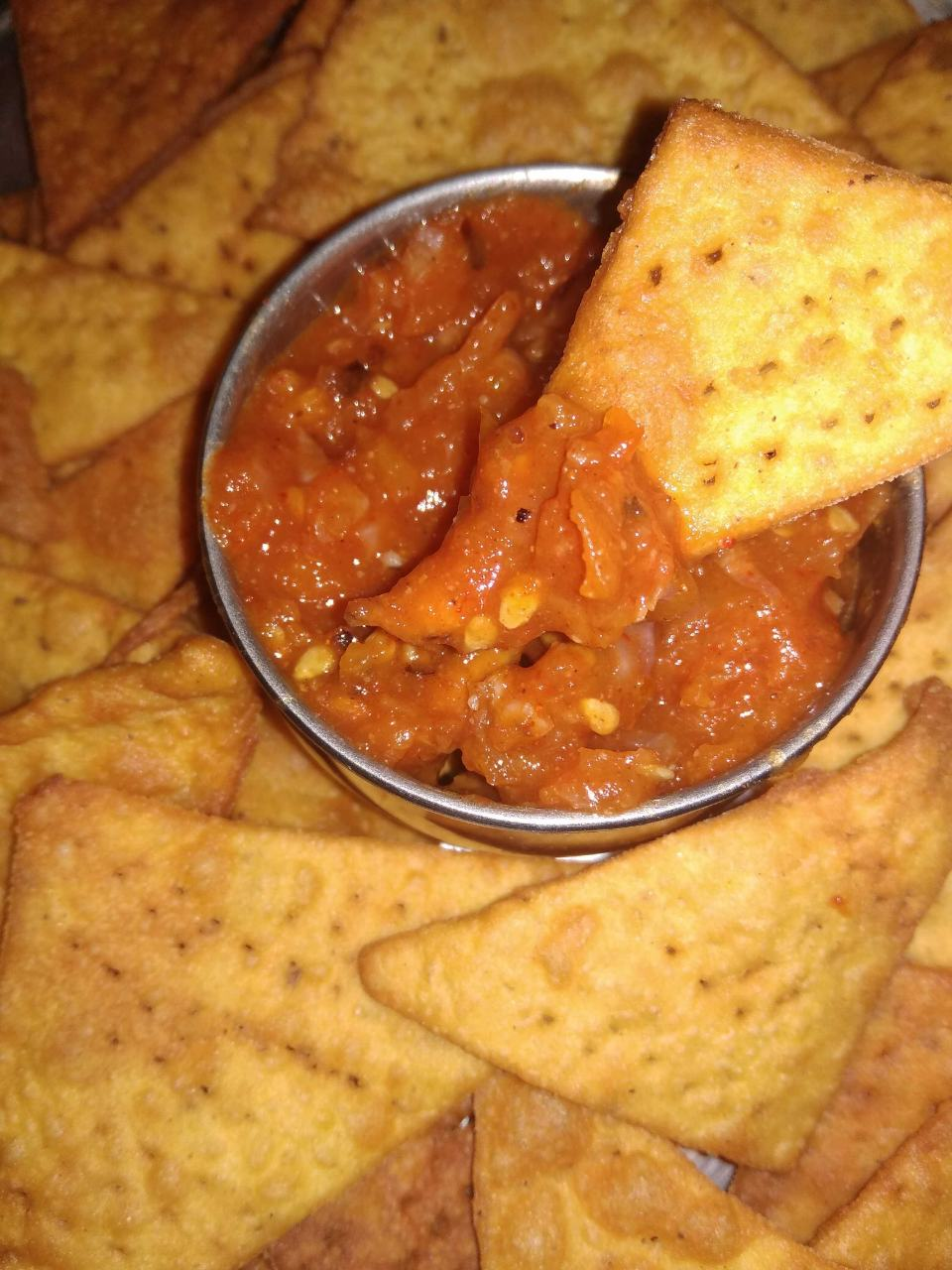 Mexican Chips /Nachos Chips With Tomato Salsa