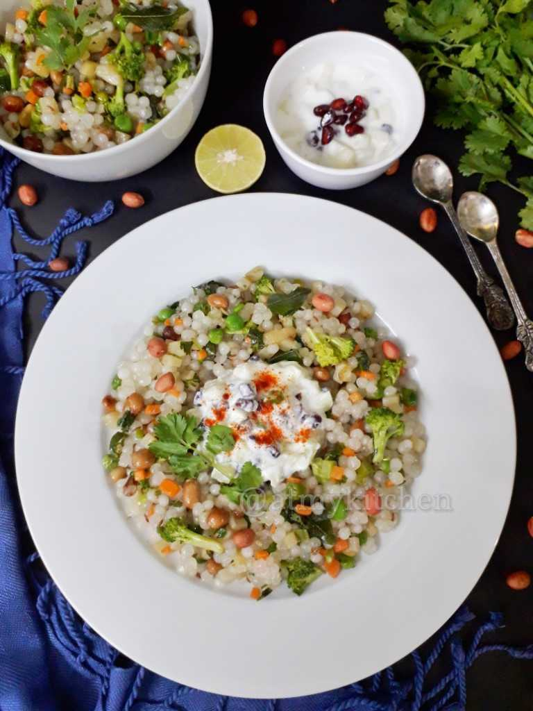 Sabudana Vegetable Khichdi