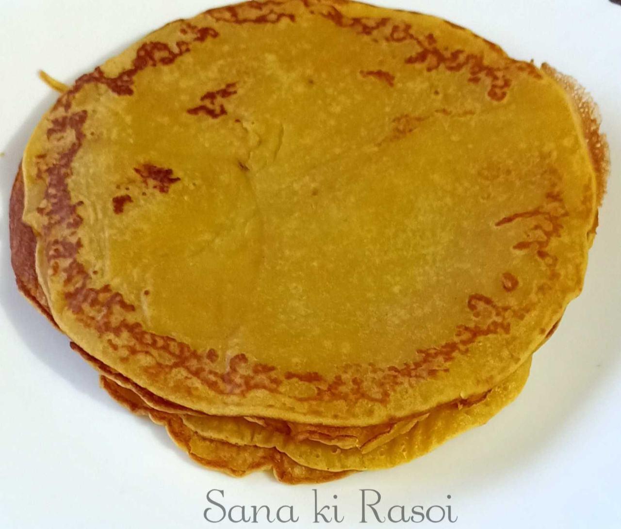 Simple Healthy Pancakes