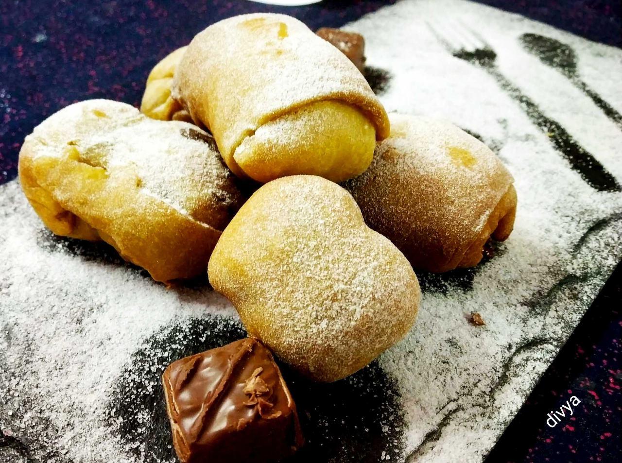 Chocolate Banana Croissants