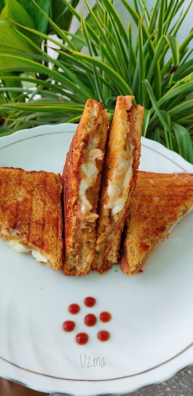 Potato and cheese Sandwich