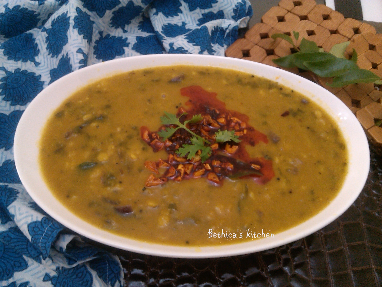 Palak Dal (South Indian Style)