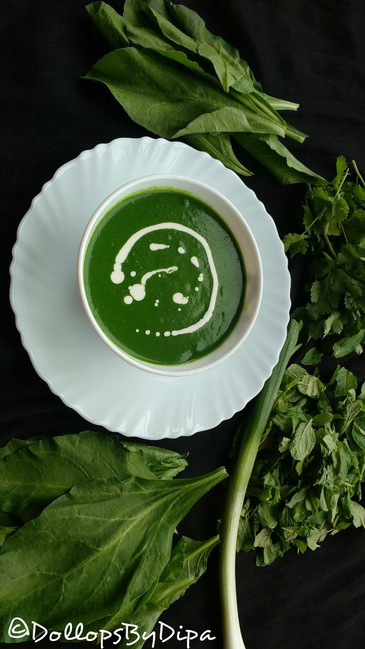GREEN GLORY SOUP