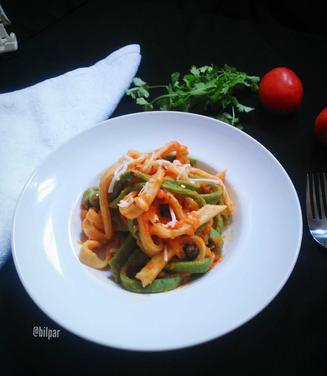 Colourful Homemade Pasta