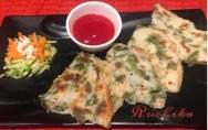 cucumber spinach pancakes