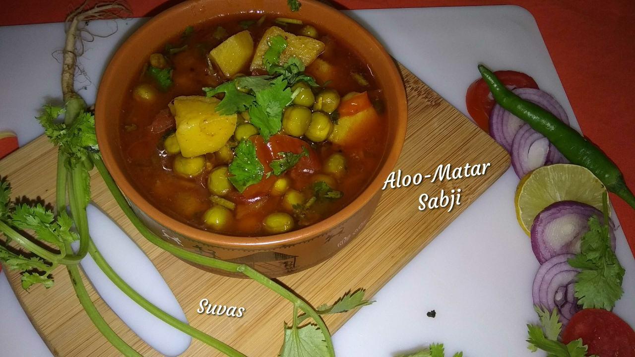 Aloo-Matar Sabji