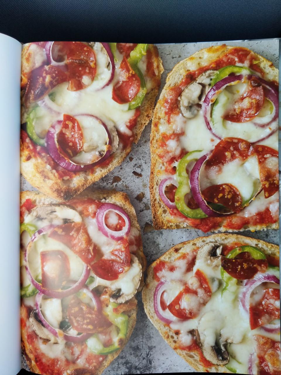 French Bread Pizza Supreme